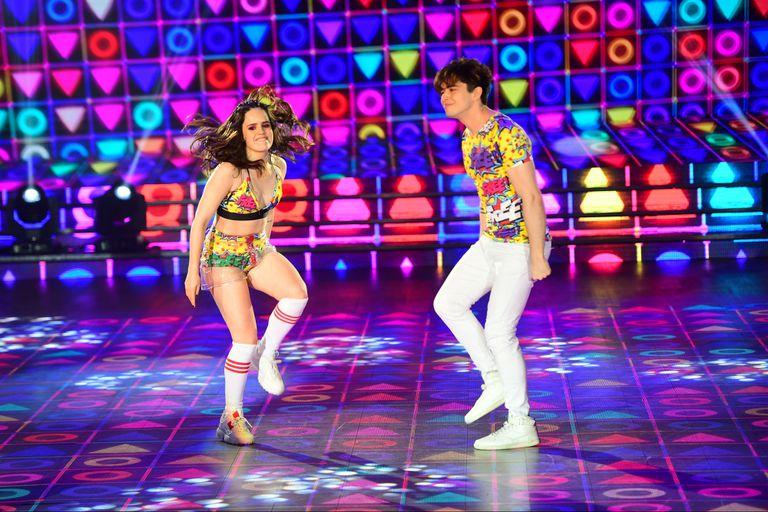 ShowMatch 2018: Julián Serrano y Sofi Morandi lograron una cumbia perfecta
