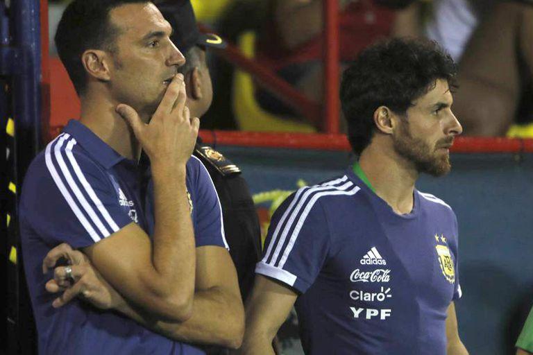 Scaloni y Aimar inician su etapa como entrenadores interinos de la selección argentina con una fuerte apuesta a la renovación