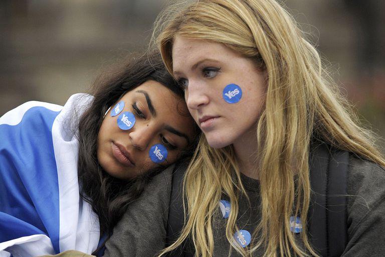 Los partidarios del SÍ en Escocia no lograron la independencia, pero obtuvieron la promesa de grandes cambios fiscales y políticos