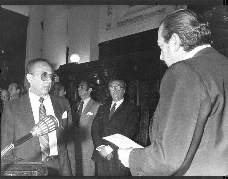 Asunción. Fayt llegó a la Corte en 1983