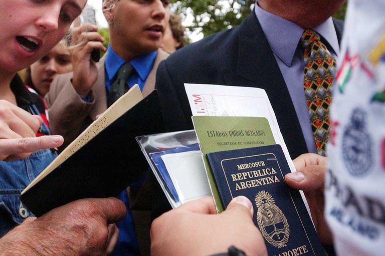El largo trámite de la visa estadounidense