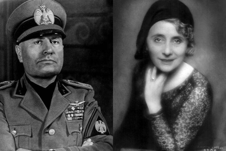 Benito Mussolini y Margherita Sarfatti, camaradas socialistas, amantes fascistas