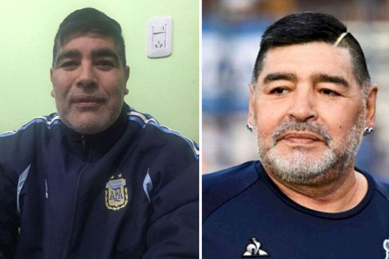 Ismael Isaac Yapura soprende con su increíble parecido a Maradona