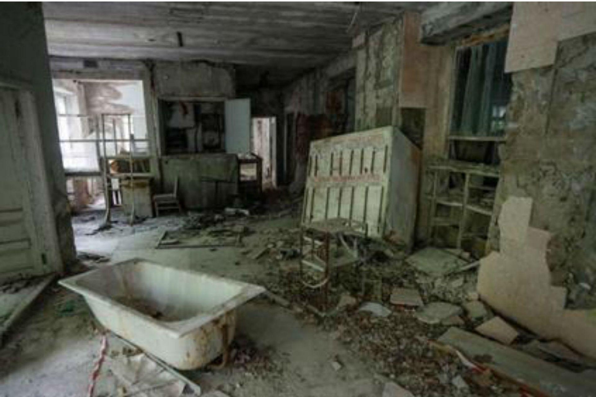 El desastre nuclear de Chernóbil ocurrió en 1986