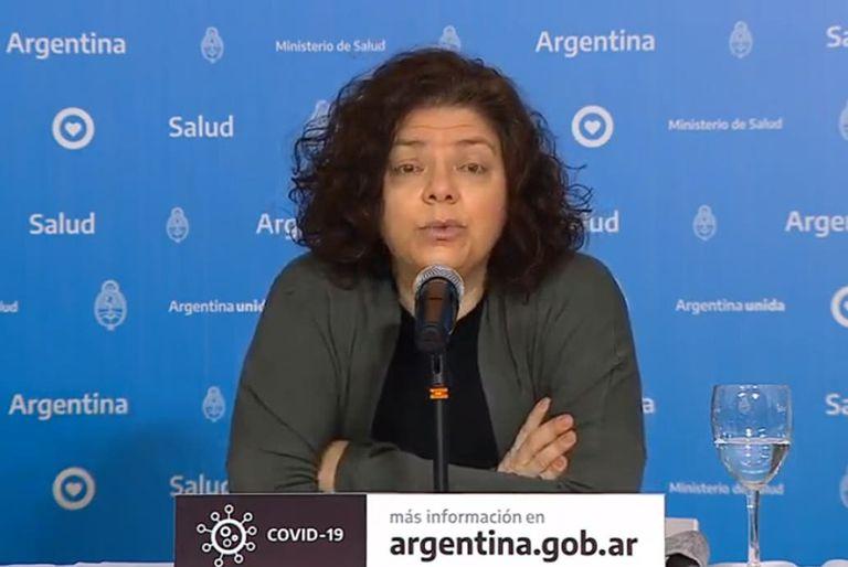Carla Vizzotti brindó detalles de la situación sanitaria en el reporte matutino del ministerio de Salud