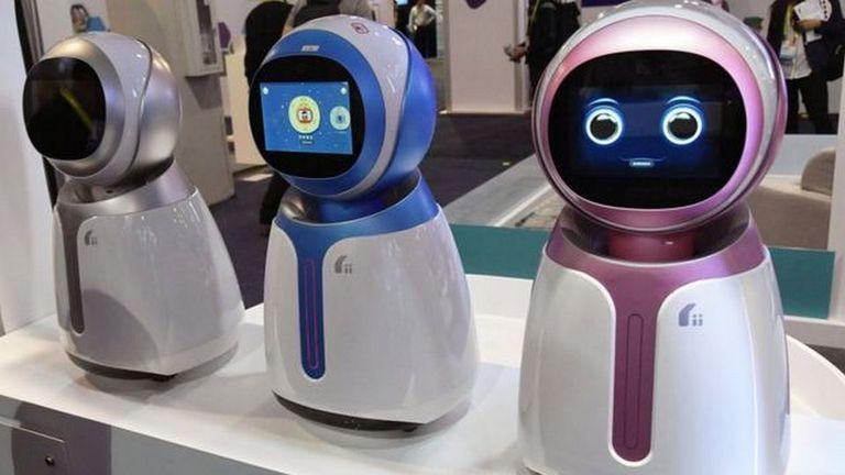 Hasta estos robots Kikoo para niños de Hanwuji Intelligence vienen con tecnología de reconocimiento facial