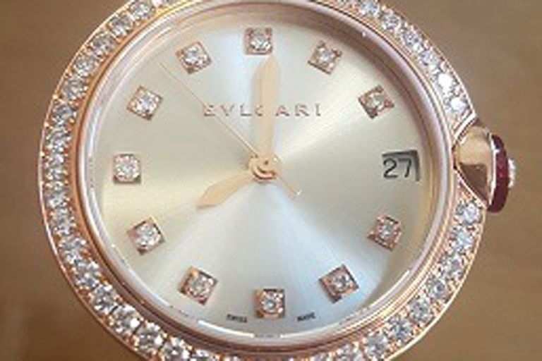 Aduana remata este reloj Bulgari por $1,4 millones