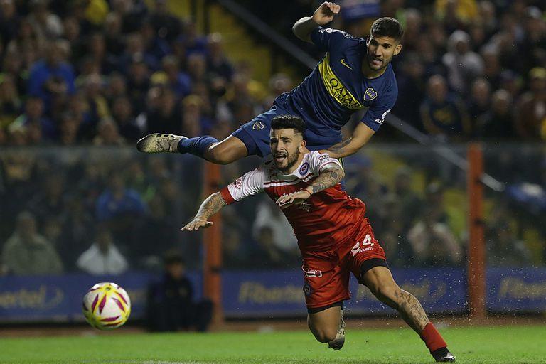 El gol esperado: luego de tres partidos, el festejo de Boca llegó desde el fondo