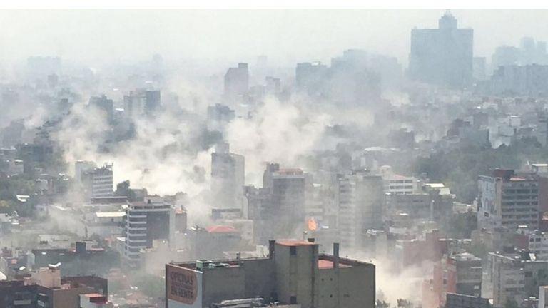 Alrededor de 300 personas fallecieron en el sismo del 19 de septiembre de 2017 en Ciudad de México
