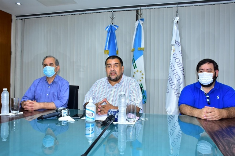 El ministro de Gobierno de Formosa, Jorge González