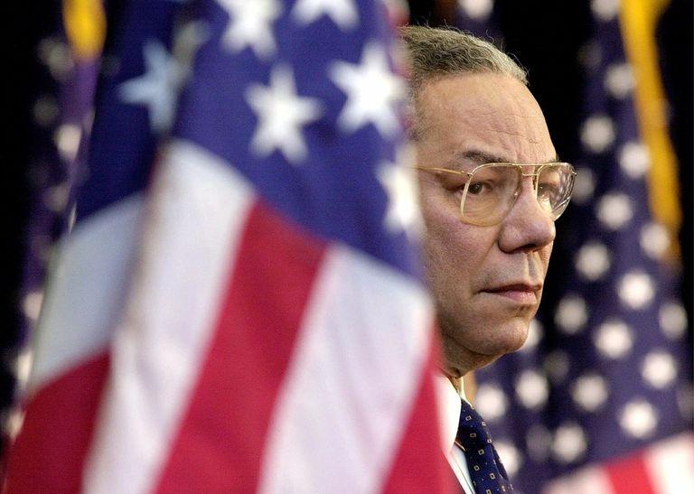 Colin Powell, el general marcado por Irak, aliado de Bush y enemigo de Trump