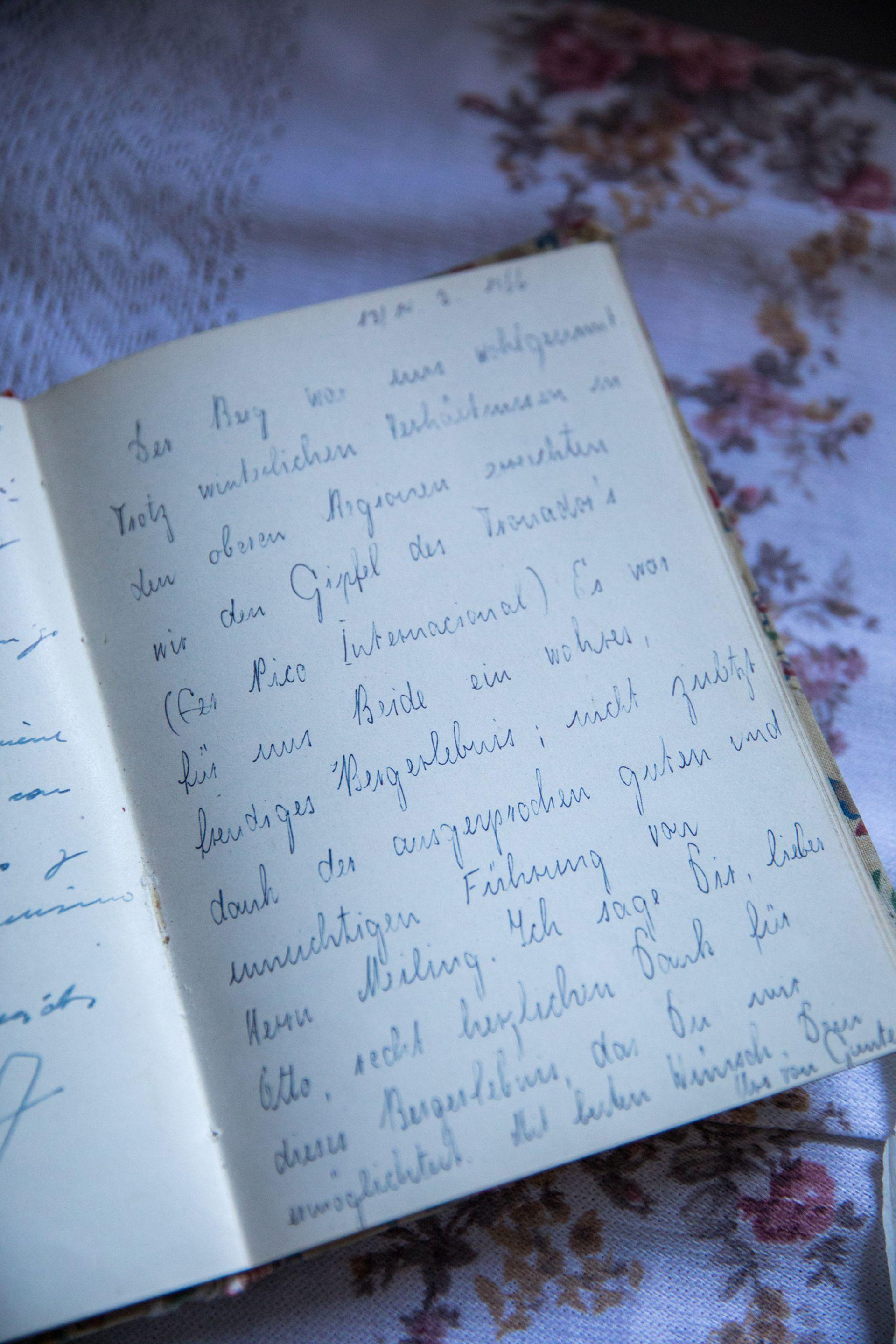 Anotaciones de Otto Meiling conservadas en su casa-museo