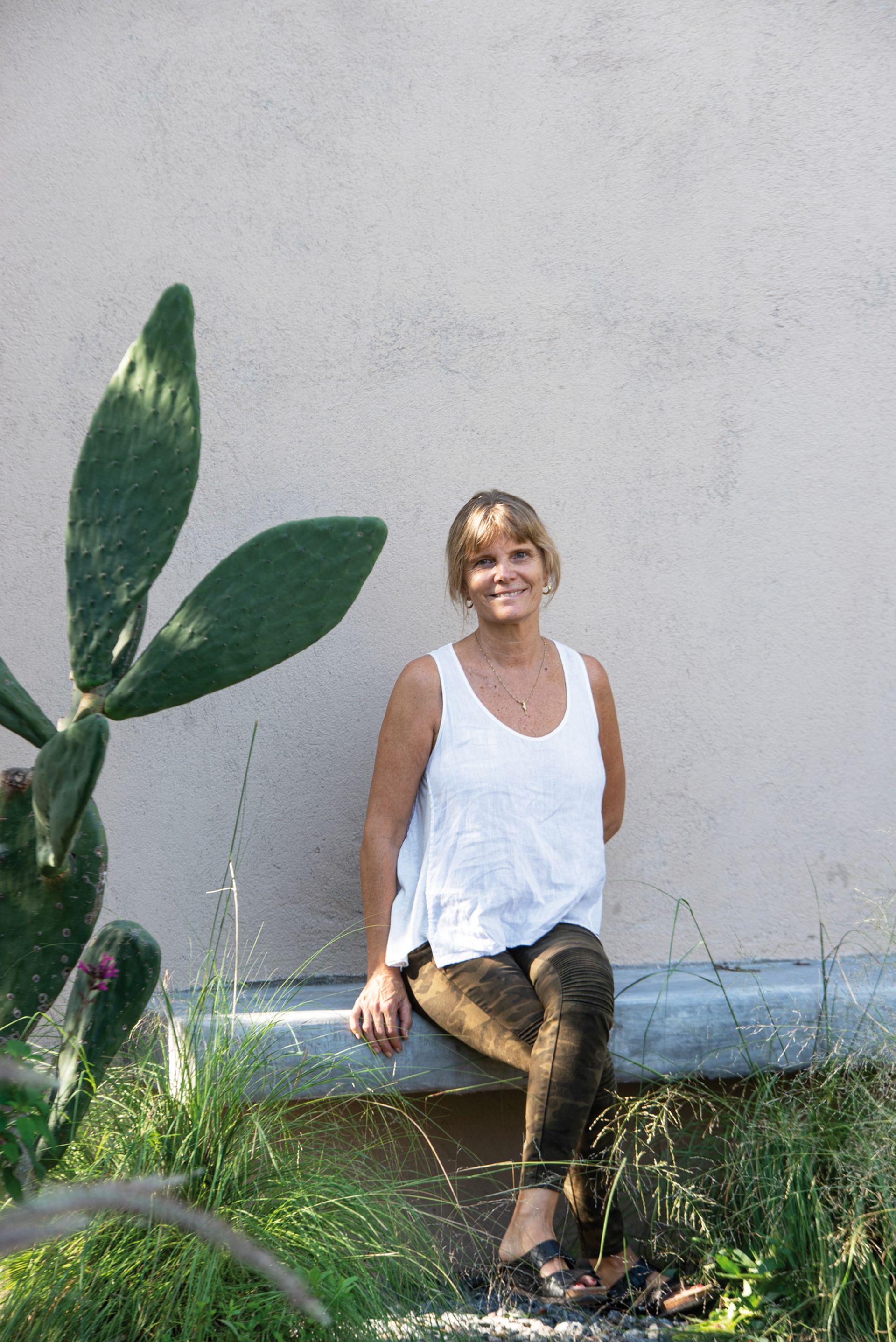 Carola Marfort, responsable del paisajismo.