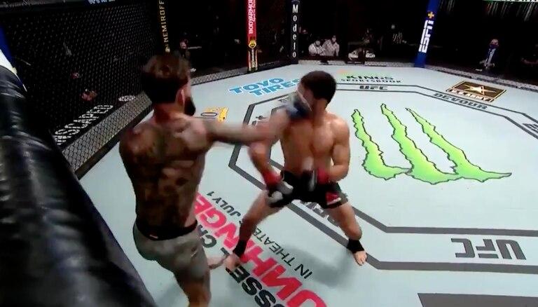 UFC: el mazazo de KO de Garbrandt al brasileño Assunção en el último segundo