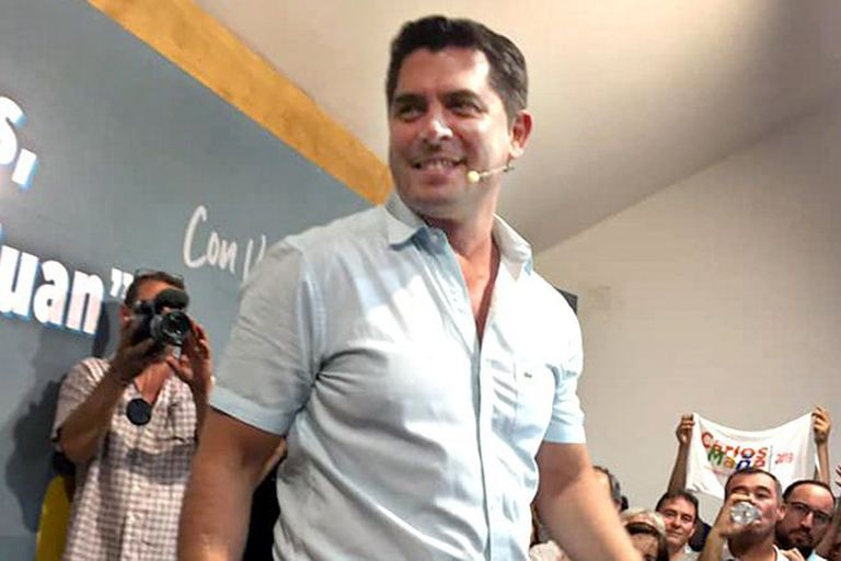 Marcelo Orrego, intendente de Santa Lucía