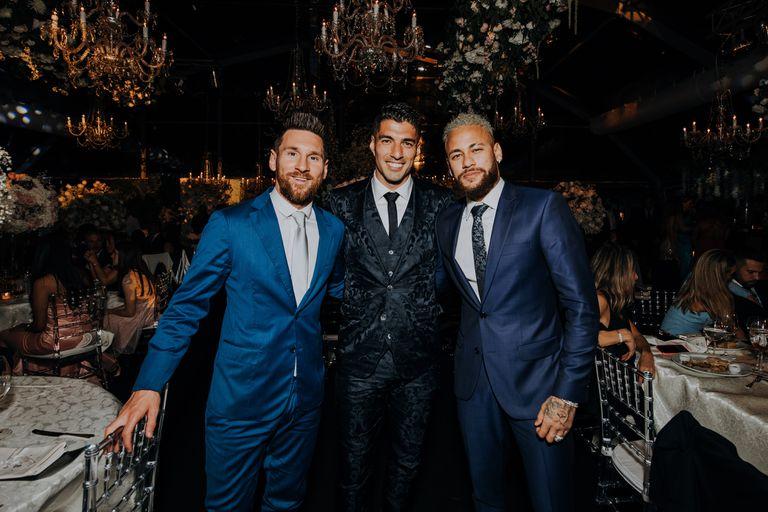 Messi, Suárez y Neymar: tres amigos en Punta del Este