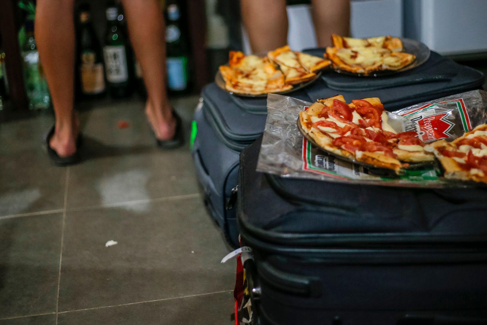 Pizzas para los recién llegados