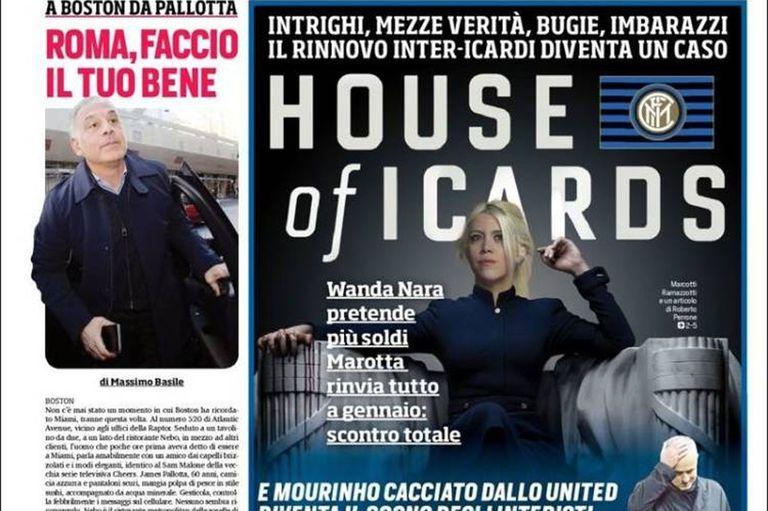 Tensión en Inter: Wanda Nara criticó a los dirigentes y la respuesta de Zanetti