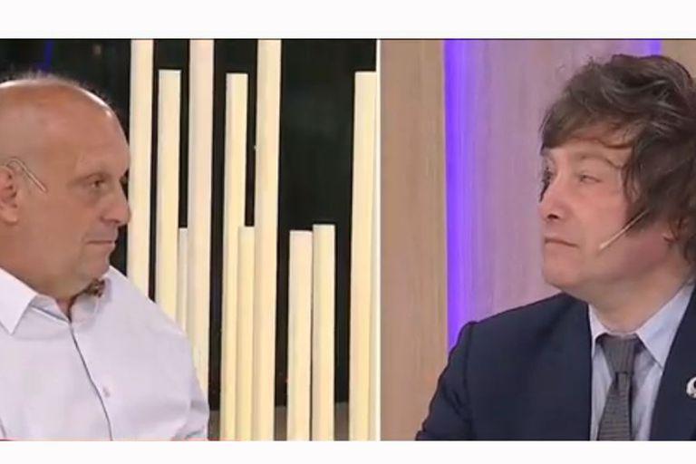 """Milei apuntó contra Lombardi: """"No estás acostumbrado a hacer buena economía"""""""