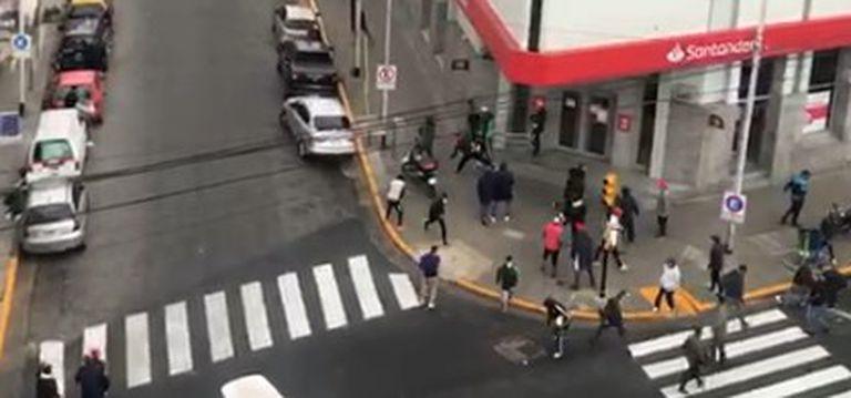 """""""Queremos llevar tranquilidad"""", comunicó Independiente tras los tiros entre barras"""