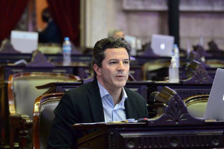 Luciano Laspina salió al cruce con el secretario de Política Tributaria, Roberto Arias.
