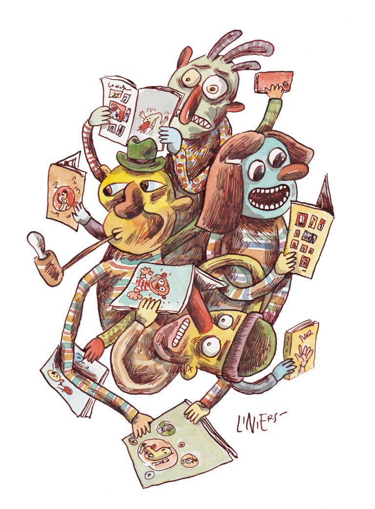 Liniers es el ilustrador invitado del encuentro del sábado 15