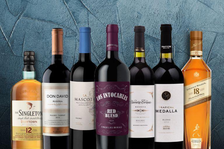 4 días de descuentos imperdibles para los apasionados por el vino y el whisky