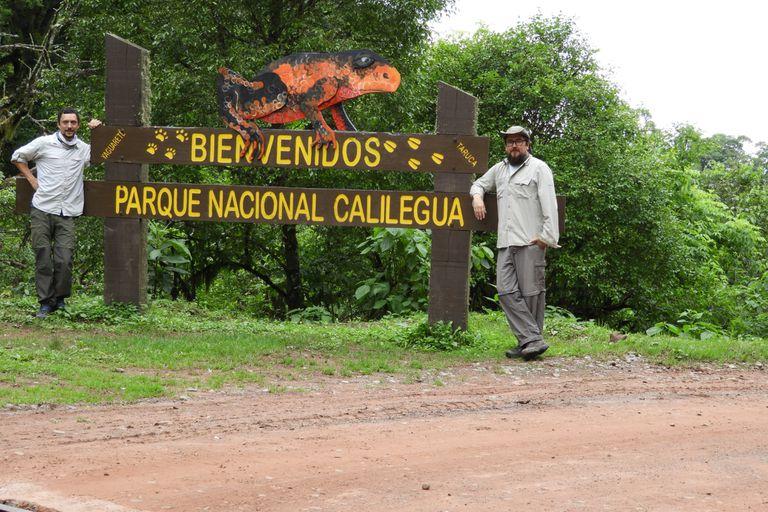 Investigadores en el parque nacional Calilegua