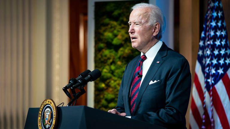 Biden marcó sus primeros 100 días de gobierno
