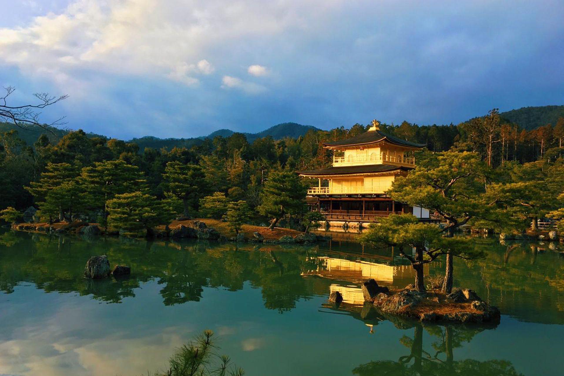 El Pabellón Dorado, la gran estrella de Kioto