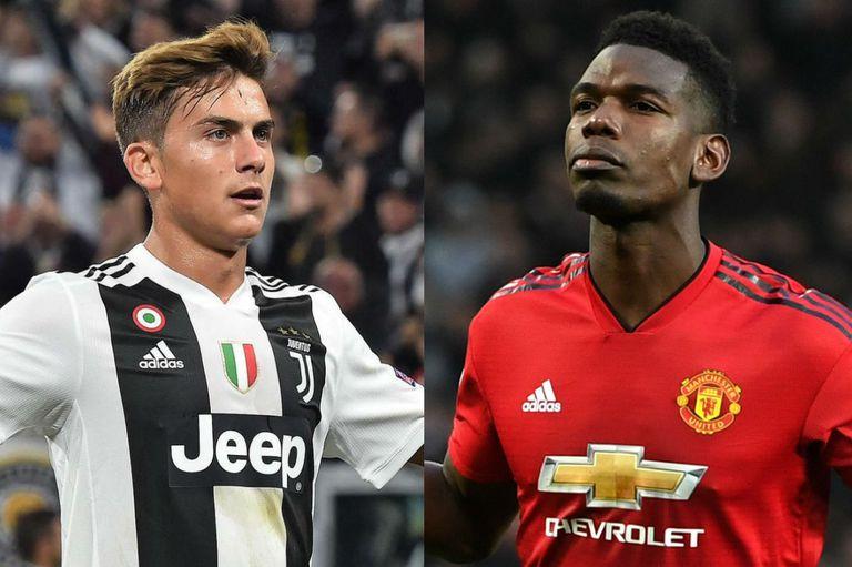 Juventus quiere repatriar a Pogba y el argentino Dybala podría entrar en la negociación