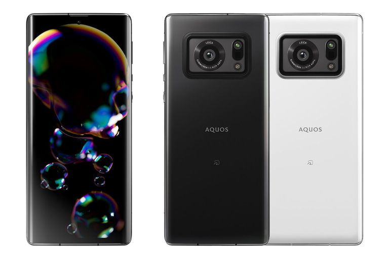 Un smartphone Sharp Aquos R6, con una única cámara trasera con sensor de 1 pulgadas y ópticas Leica