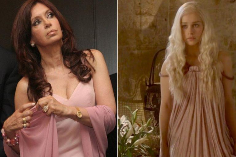 Game of Thrones: el tuit viral que compara a Cristina con Daenerys