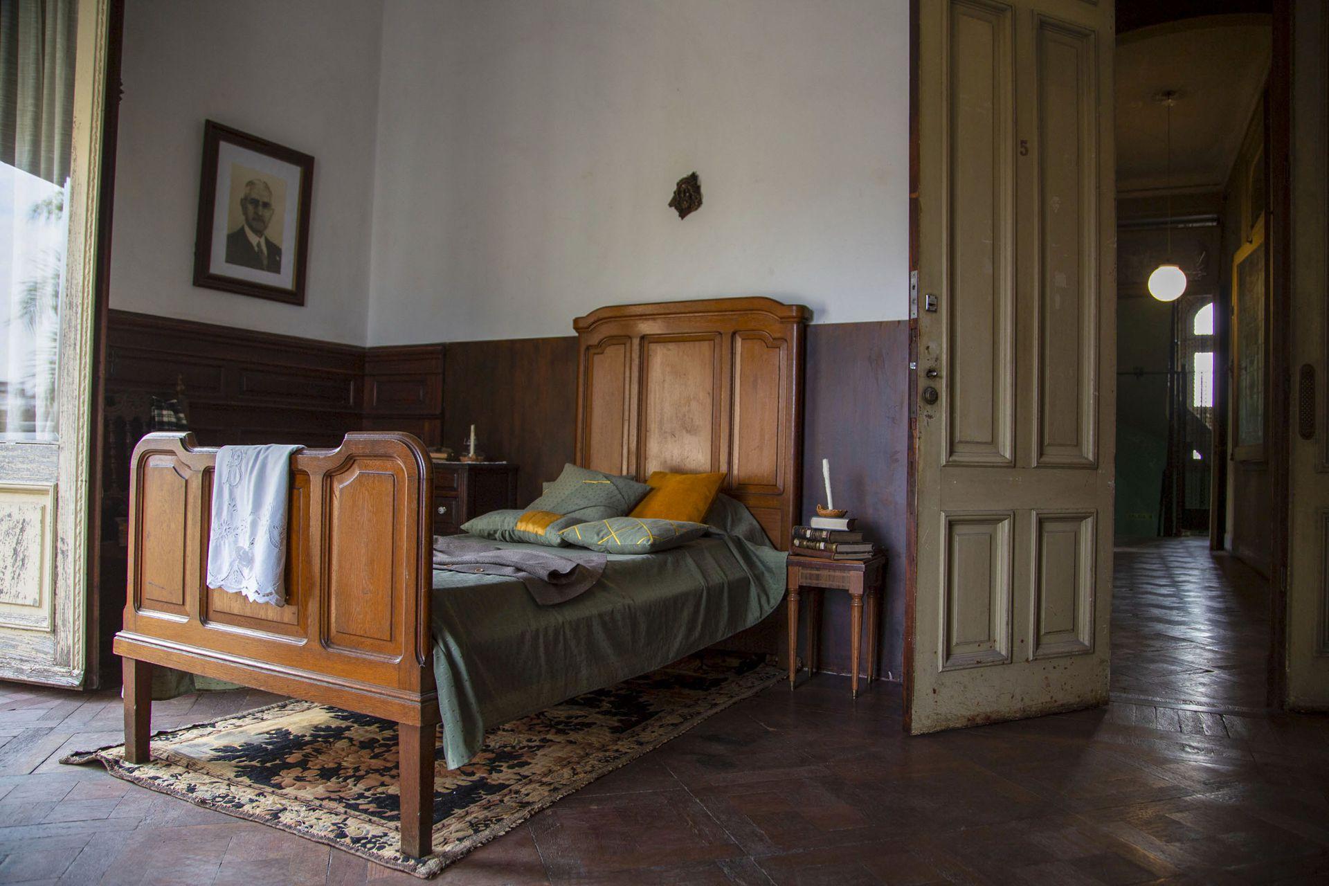En el Palacio Ceci se conserva algunos muebles originales de la primera mitad del siglo pasado