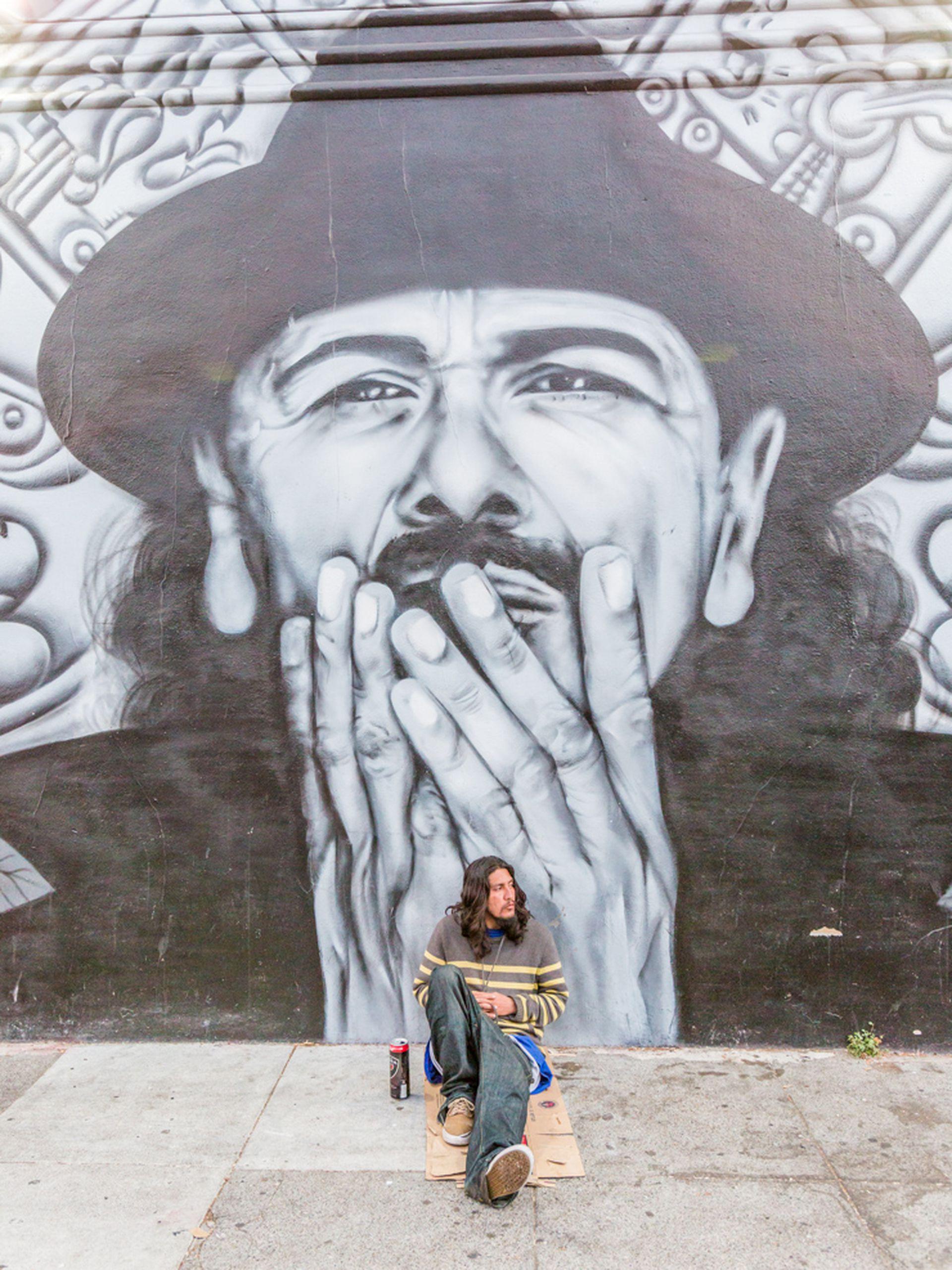 Street art en las calles del barrio The Mission, San Francisco.
