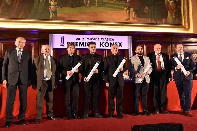 Se entregaron los Premios Konex-Diploma al Mérito en Música Clásica