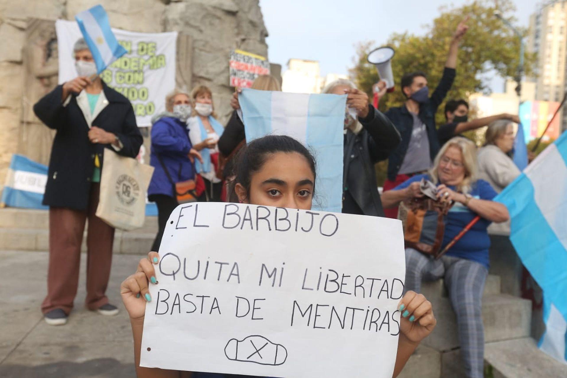 Protesta #17A en Mar del Plata