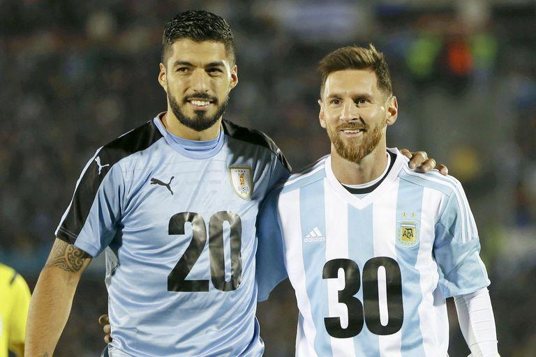 Suarez y Messi, rivales pero amigos