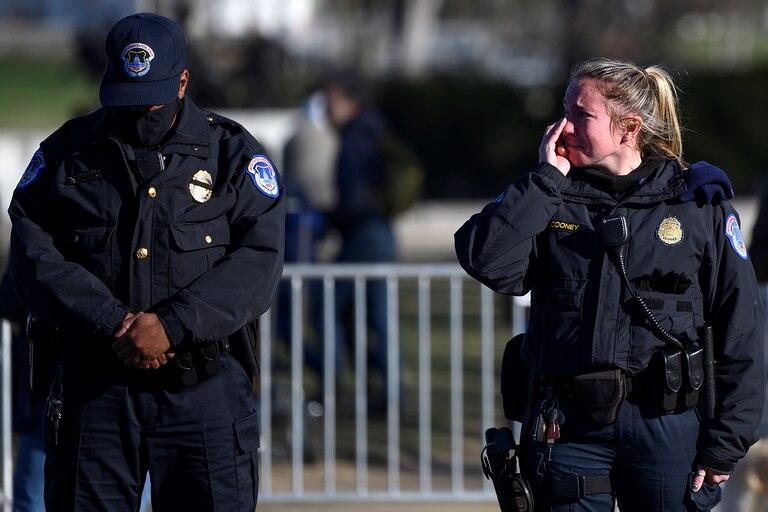 EE.UU.: investigan si agentes fuera de servicio participaron de los disturbios