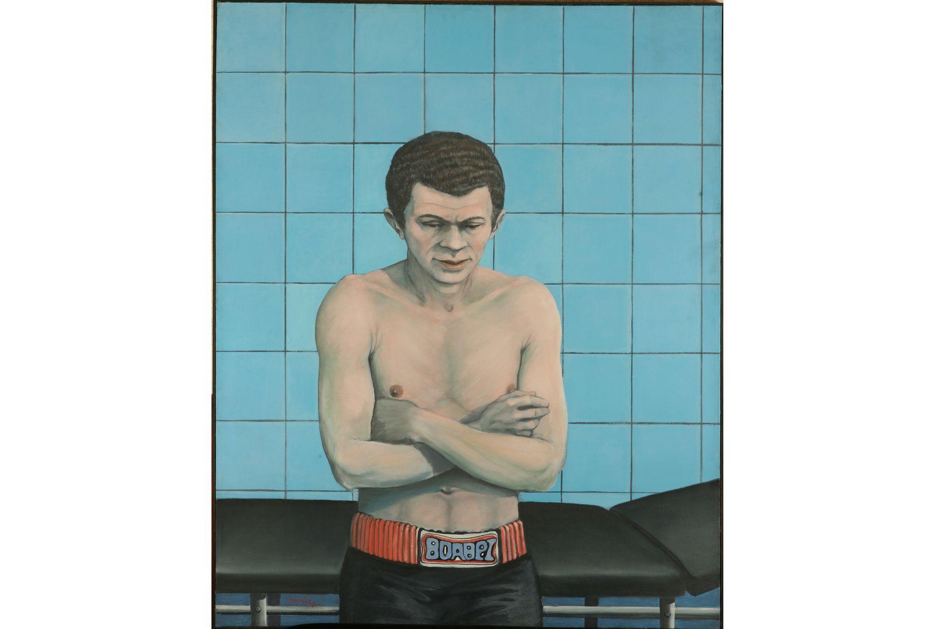 Pablo boxeador, Pablo Suárez, 1977