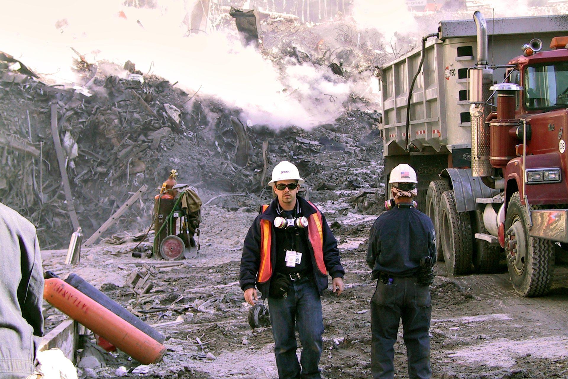 Las fotos inéditas del atentado del 11-S en Nueva York halladas en una subasta