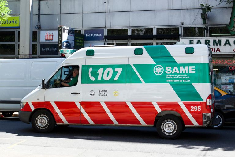 Ambulancia del SAME