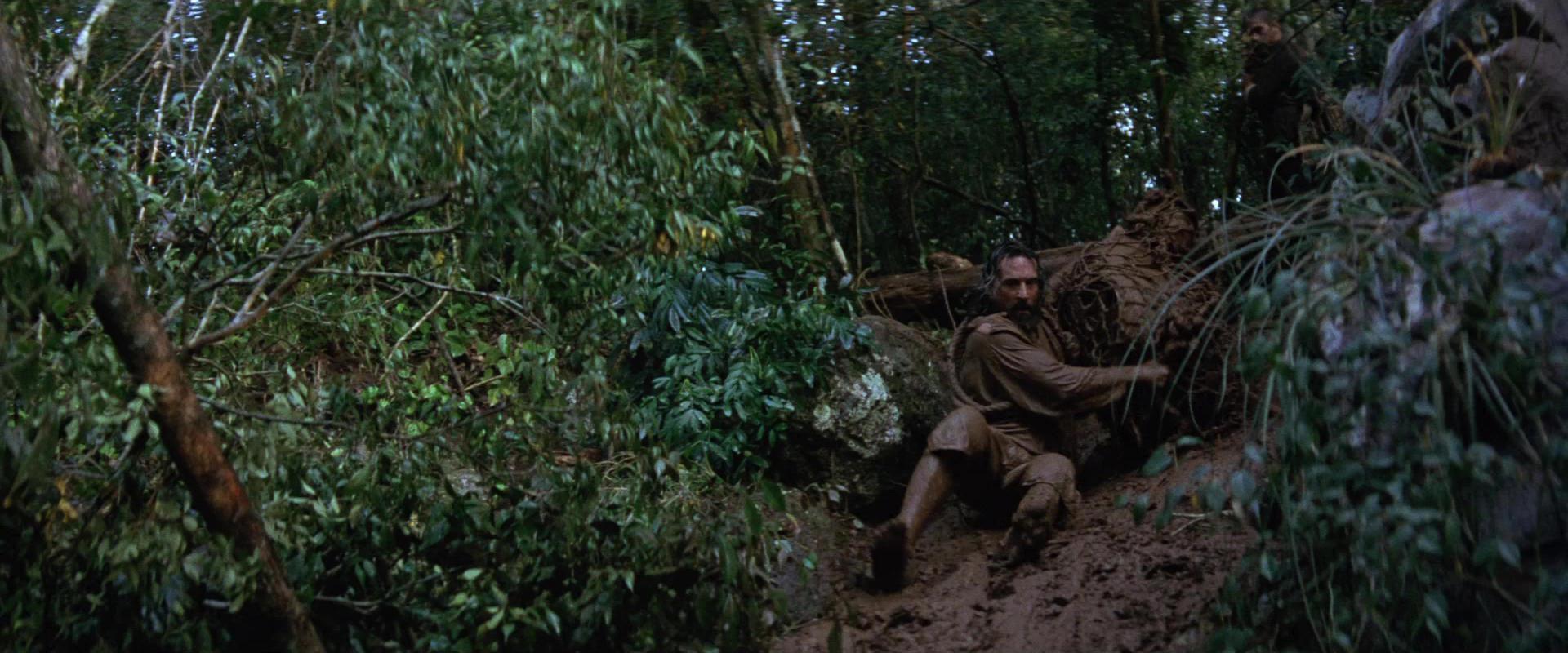 Robert de Niro en la selva misionera. Fuente: IMBd