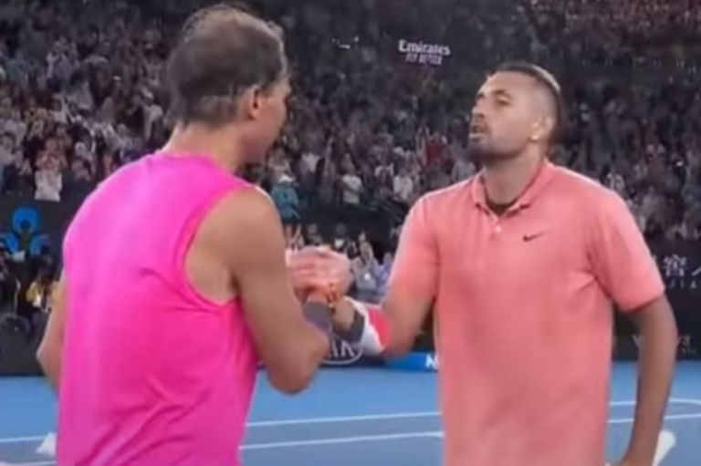 Nick Kyrgios enfrentó varias veces a Rafael Nadal y luego lo criticó. Ahora, expresó elogios para el español.