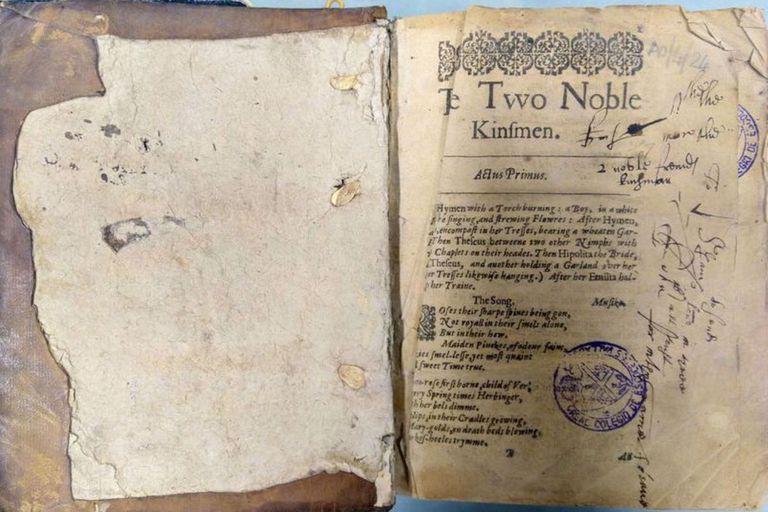 Encuentran una rara edición de hace 400 años de la última obra de Shakespeare