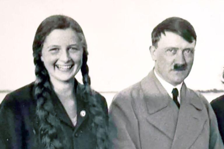 Geli Raubal y Adolf Hitler