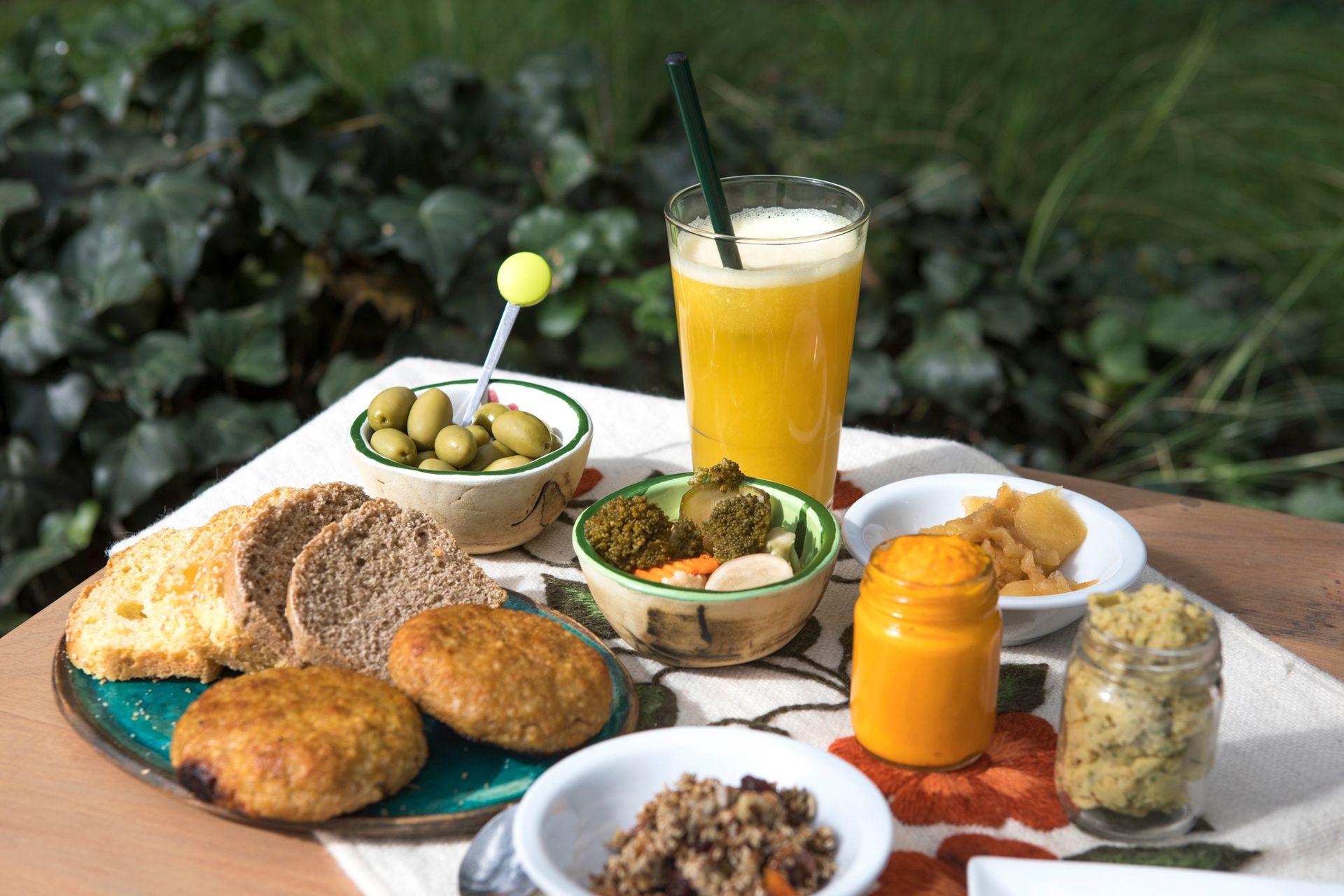 El menú saludable a base de productos orgánicos, pilar de Las Dalias.