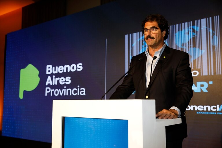 El ministro de Agroindustria bonaerense Leonardo Sarquís