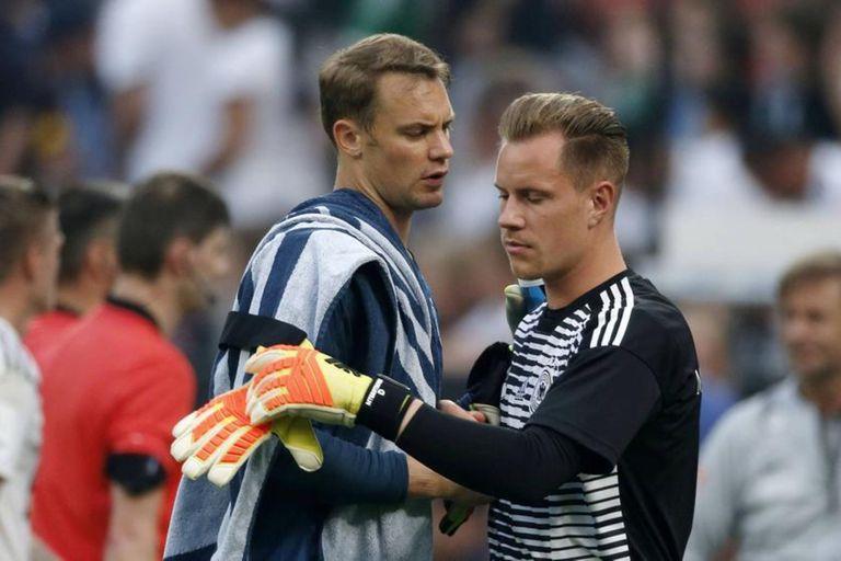 Barcelona-Bayern. Morbo alemán en los arcos: la pelea entre Ter Stegen y Neuer