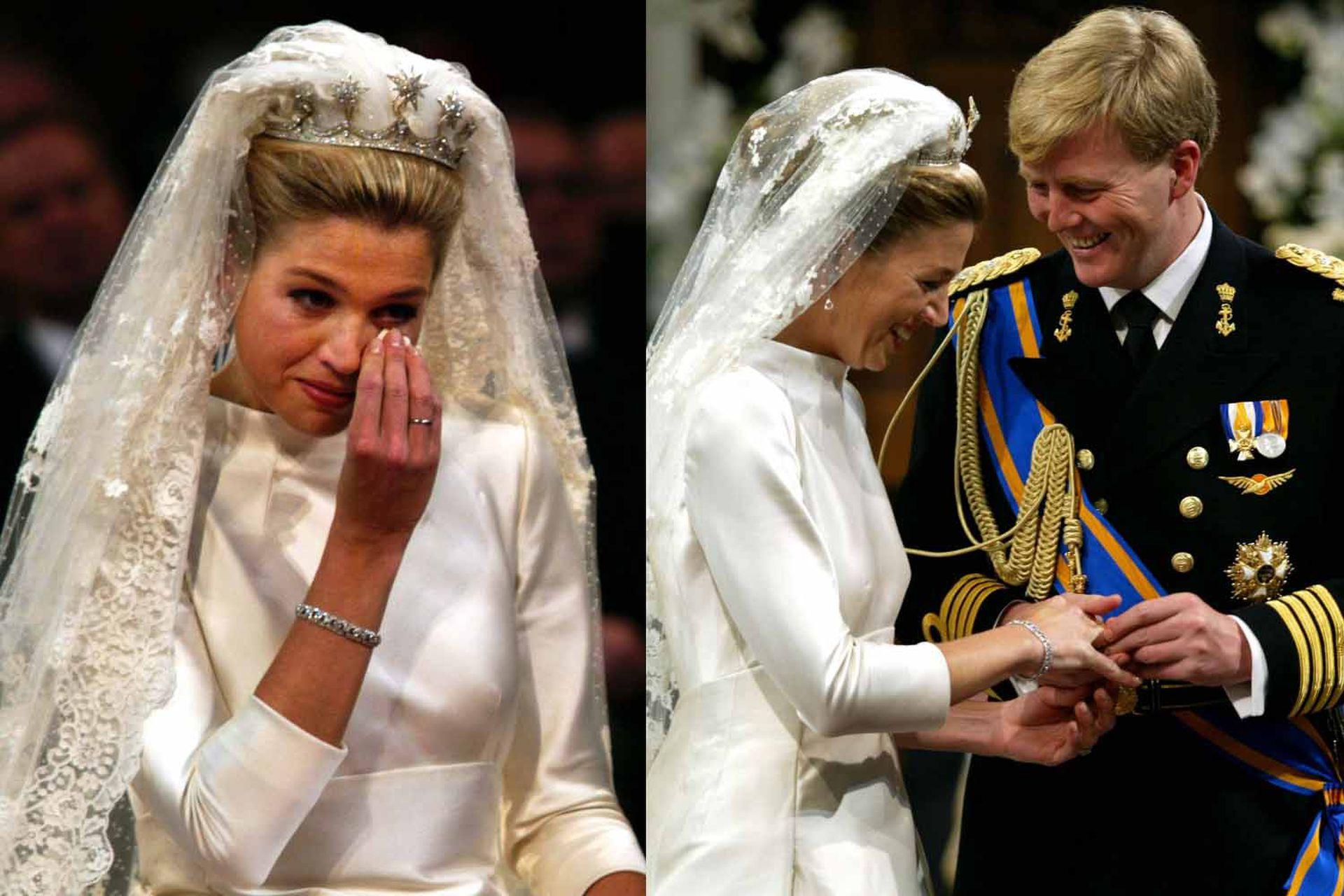 Uno de los momentos más memorables de la ceremonia: Máxima se conmovió hasta las lágrimas